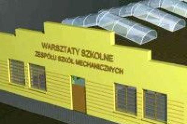 ZSM: trwa remont warsztatów szkolnych
