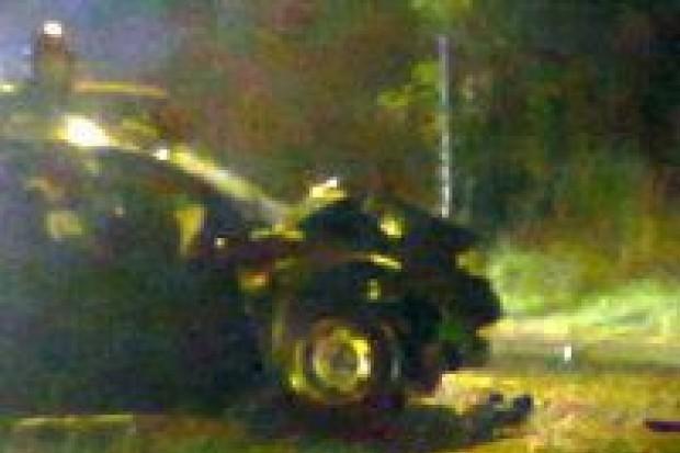 Zderzenie aut na Jeleniogórskiej