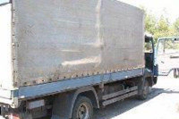 Policja odzyskała skradzioną ciężarówkę