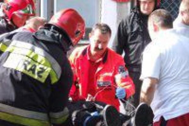 5 osób poszkodowanych w wypadku