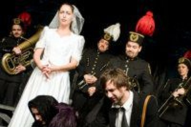"""Miedziana """"Orkiestra"""" w Teatrze Starym"""
