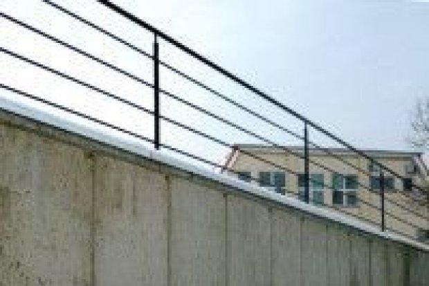 Przebudowa muru oporowego