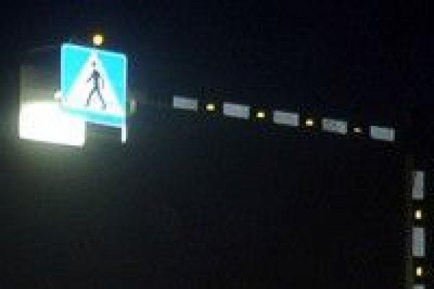 Doświetlenie przejść dla pieszych