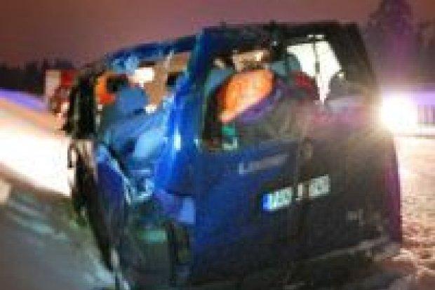 Wypadek na A4, jedna osoba nie żyje