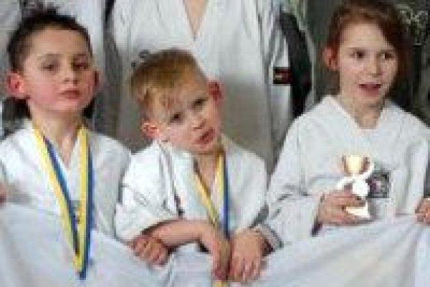 Taekwondocy Gladius z 7 medalami Oberlausitz Cup