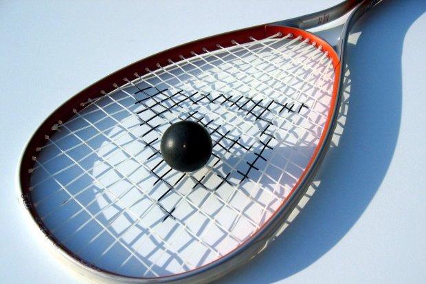 Łukasz Lisiewicz najlepszy w turnieju squasha