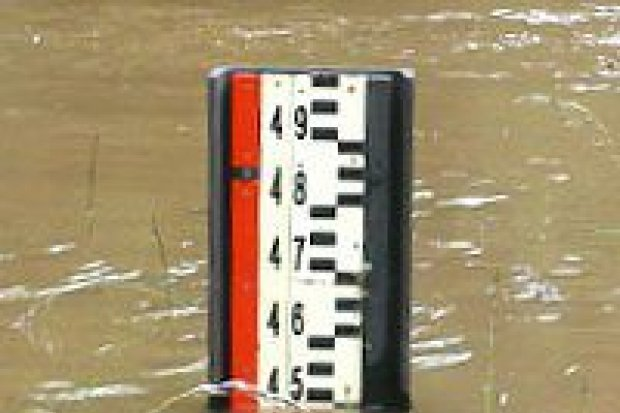 Poziom wody w rzekach powiatu opada