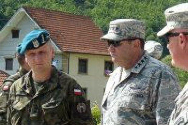 Generał Breedlove z wizytą u polskich żołnierzy