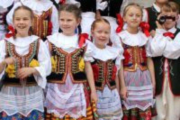 """ZPiT """"Mały Bolesławiec"""" zatańczył z zespołem z Zwickau"""