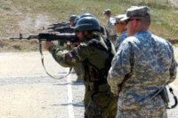Strzelania sytuacyjne żołnierzy PKW KFOR