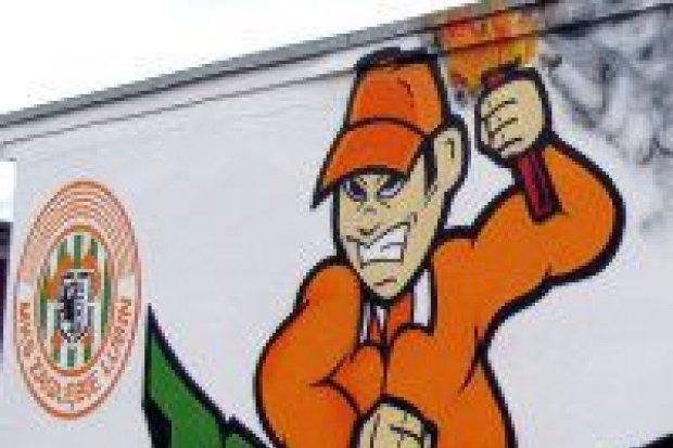 Imponujące graffiti Zagłębia na Jezierskiego