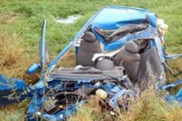 Kobieta zginęła w wypadku koło Brzeźnika