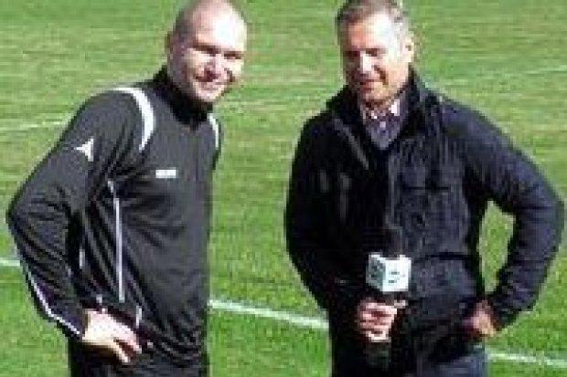 TVN24 na meczu COMT 2012