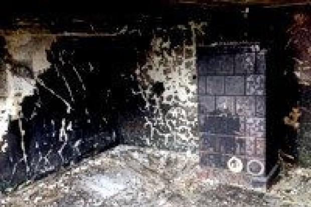 Spaliło się mieszkanie w Nowogrodźcu