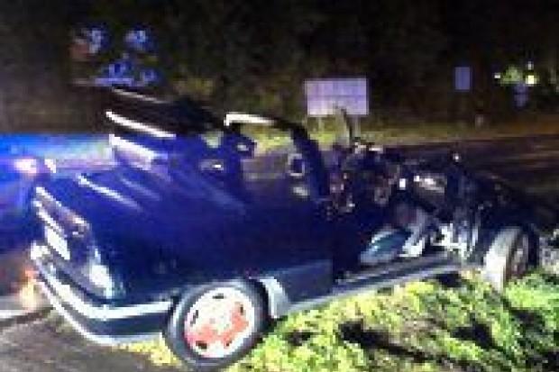 Wypadek na Jeleniogórskiej – kierowca zbiegł