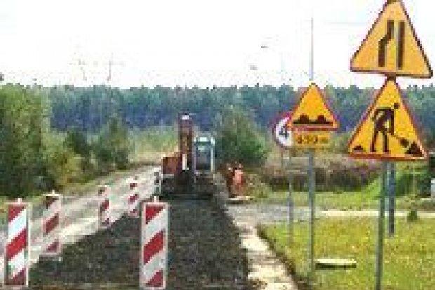 """Droga do """"strefy"""" w Wykrotach będzie przebudowana"""