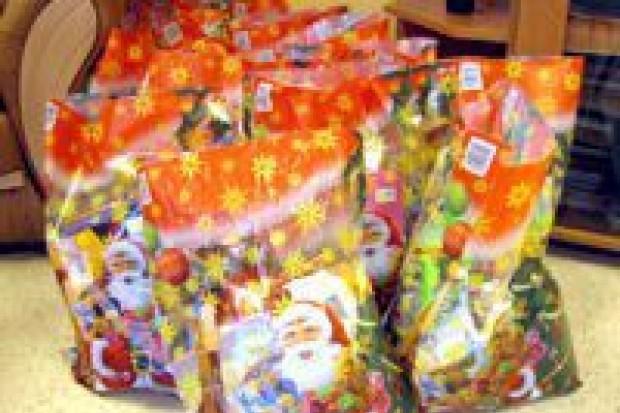 Przygotowali paczki dla dzieci z biednych rodzin