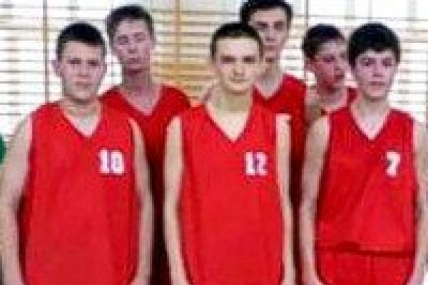Koszykarze z GS nr 1 wicemistrzami strefy
