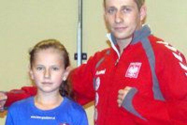 10-letnia gladiatorka na zgrupowaniu kadry Polski
