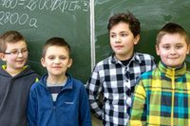 """Matematyczne sukcesy uczniów """"czwórki"""""""
