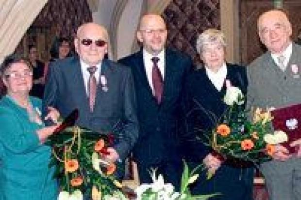 Złote gody trzech bolesławieckich par