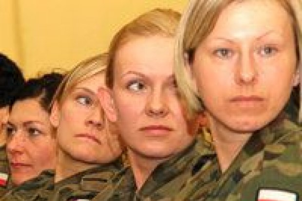 Spotkanie kobiet-żołnierzy