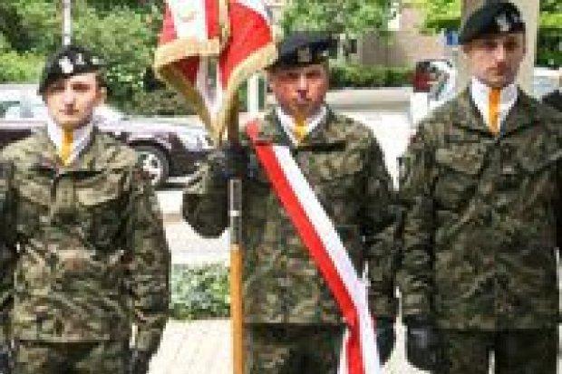 Ostatnie pożegnanie żołnierza 24 Pułku Ułanów