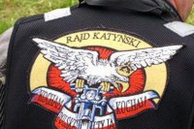 Motocykliści Rajdu Katyńskiego w ZSOiZ