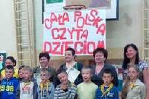 Cała Polska czyta Dzieciom w SP nr 2