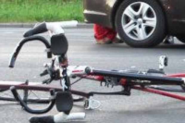 Potrącenie rowerzysty na feralnym skrzyżowaniu