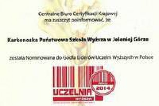 Jeleniogórska uczelnia liderem wśród uczelni wyższych