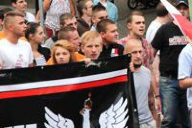 Relich i Zieliński na marszu narodowców