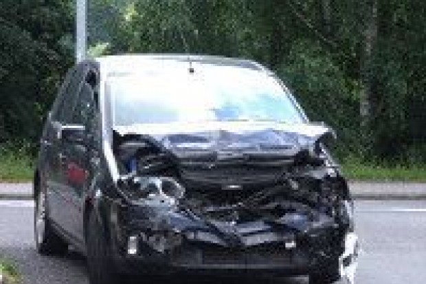 Zderzenie aut na II Armii WP, jedna osoba ranna