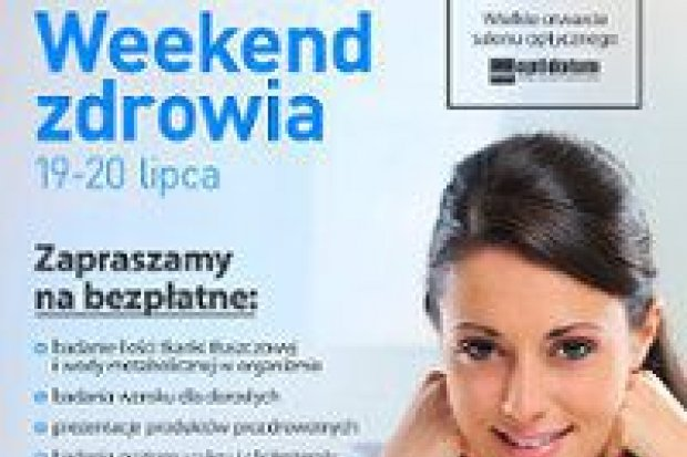 Weekend Zdrowia w Bolesławiec City Center