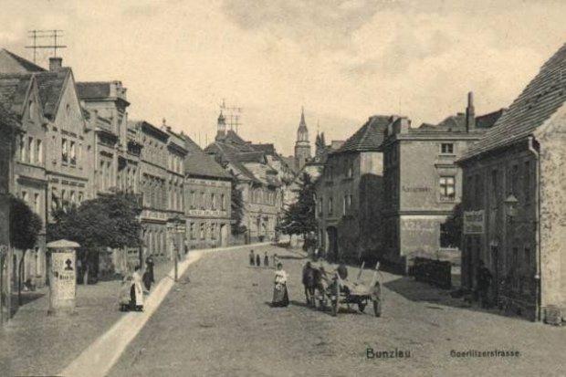 Dawny Bolesławiec: ulica Zgorzelecka