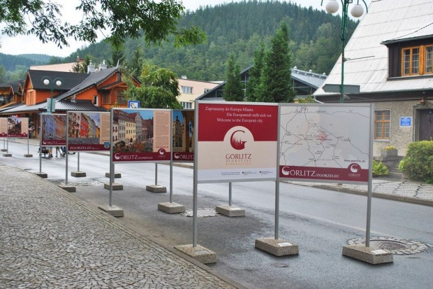 Karpacz prezentuje wystawę Europa Miasto Zgorzelec/Goerlitz
