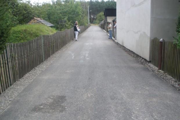 Przebudowa dróg w Ruszowie
