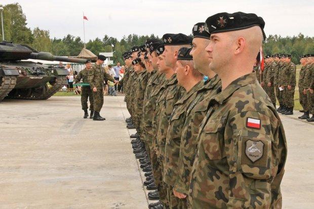 Święto 1 batalionu czołgów