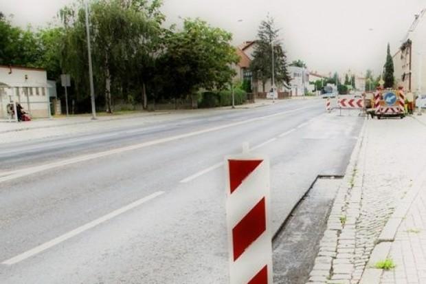 Prace drogowe na Wrocławskiej