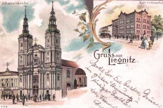 Dawna Legnica na starych kartach pocztowych