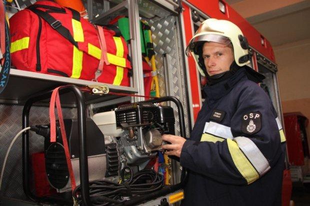 Robert udowodnił, że jest prawdziwym strażakiem-ratownikiem