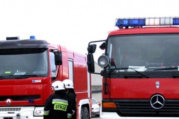 Wybuch butli z gazem w Raciborowicach. Jedna osoba poszkodowana