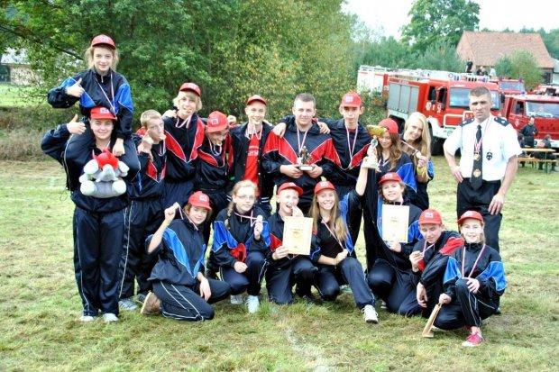 MDP Tomaszów i OSP Ołobok najlepsze w zawodach sportowo-pożarniczych