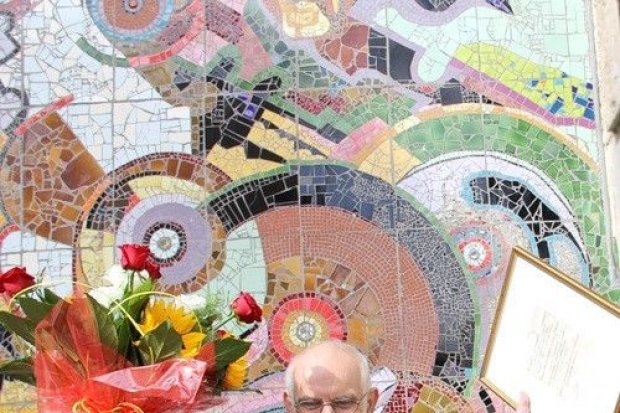 Kopernikańska mozaika w Rynku po renowacji