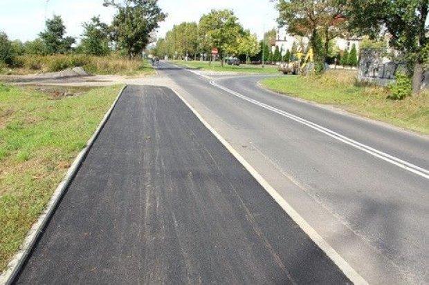 Chodnik przy Koskowickiej jest już asfaltowy