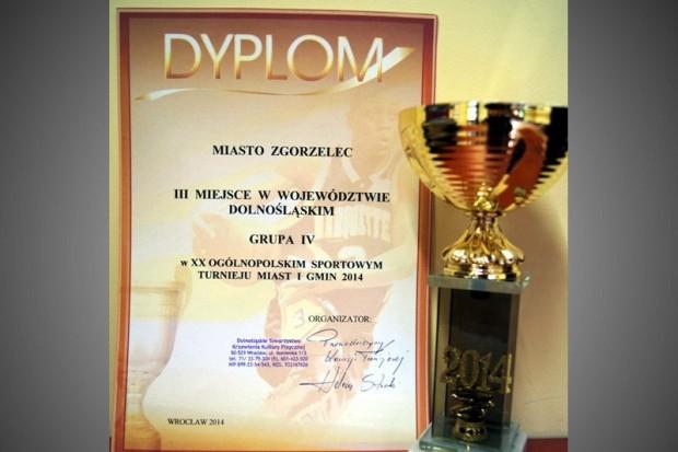 Sukces Zgorzelca w Sportowym Turnieju Miast i Gmin