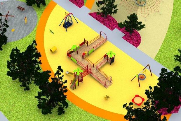 Powstaje wielopokoleniowy plac zabaw przy ulicy Tyrankiewiczów