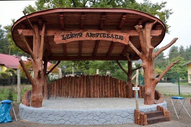 Leśny Amfiteatr w Parowej