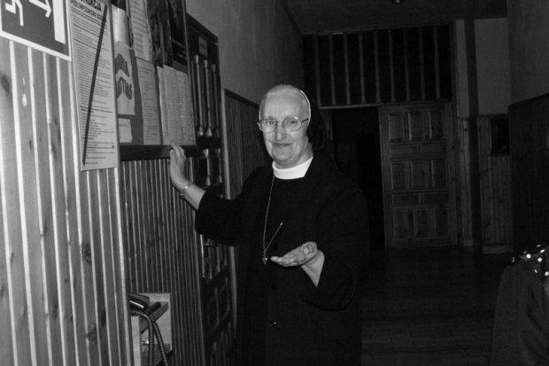 Siostra Zofia Bolesława Zawadzka nie żyje