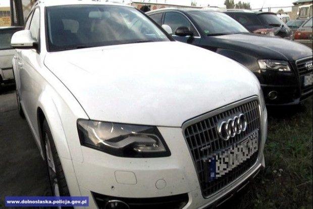 Dziupla samochodowa zlikwidowana, policjanci odzyskali trzy auta o wartości 360 tys. zł